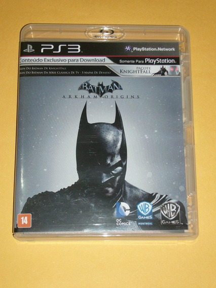Batman Arkham Origins ( Jogo Original Ps3 )