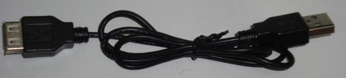 Cable Convertidor Usb Macho A Hembra Pc Laptop Extensión New