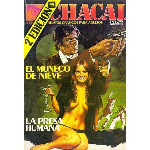 Gibi Chacal Agente Secreto Antigo Anos 80 Espanhol Raro