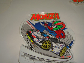 Adesivo Monza Race Way    Importado Resinado