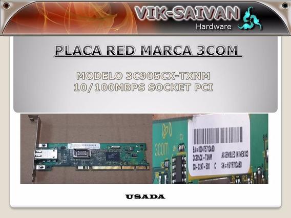 Placa De Red 3com 3c905cx-txnm 10/100 Pci 1