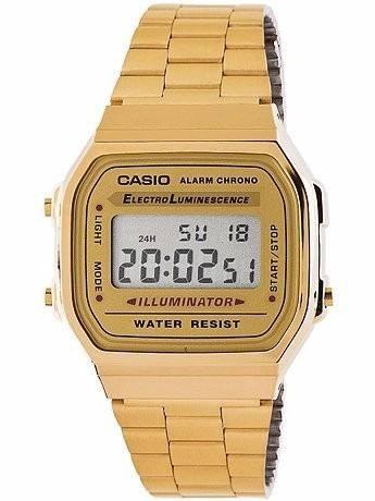 bfab23c95076 Reloj Casio Original A-168wg-9 Dorado -   199.900 en Mercado Libre