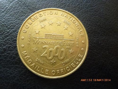 Medalla Oficial  Del Museo Larmee Paris (700z