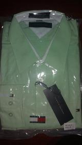 Camisa Social Top, Verde, Otimo Acabamento.