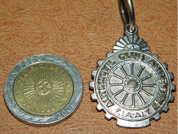 Medalla Automovil Club Argentino
