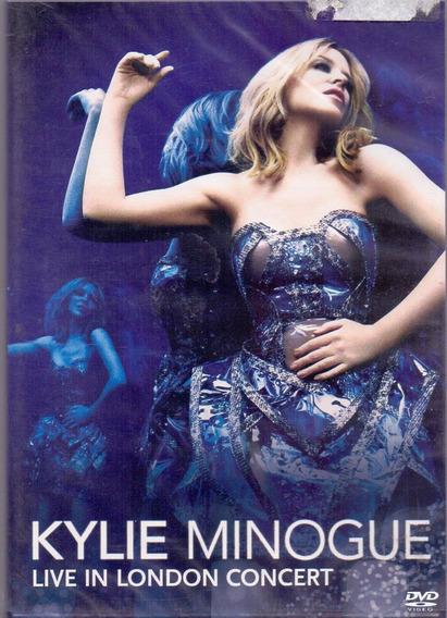 Dvd Kylie Minogue - Live In London Concert - Novo***