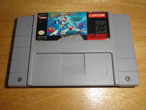 Raro Megaman X Super Nintendo Original Leia Todo Anuncio