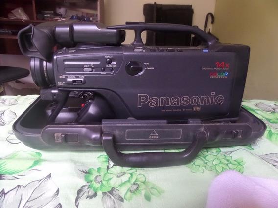 Filmadora Panasonic Nv-m2400 Vhs