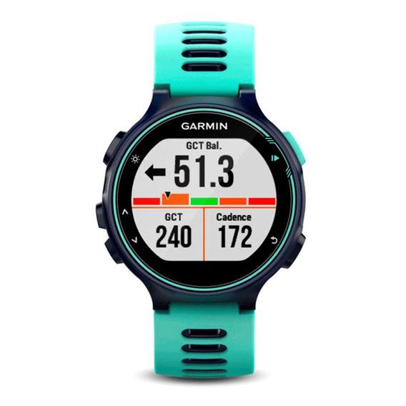 Relógio Esportivo Garmin Forerunner 735xt Azul E Azul Mari