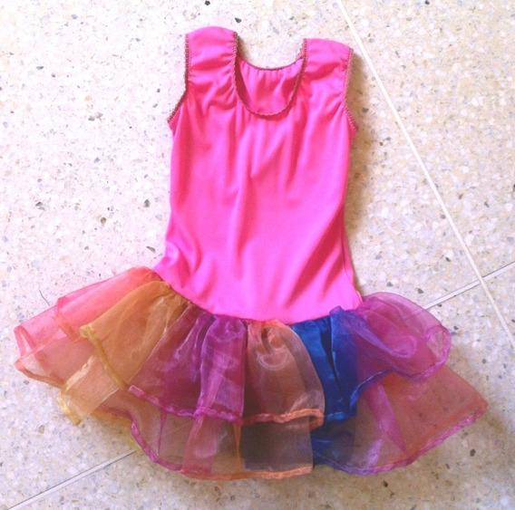 Vestido Disfraz De Mariposa Talla 6