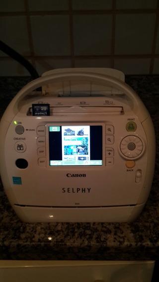 Impressora De Fotos Canon Selph Es3 Nao Usa Tinta Novidade