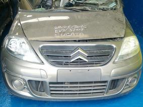 C3 1.4 Flexsucata Motor Cambio Lataria Retirada Peças