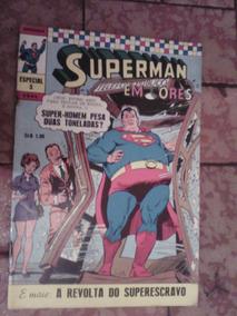 Superman Em Cores Ebal De 1970