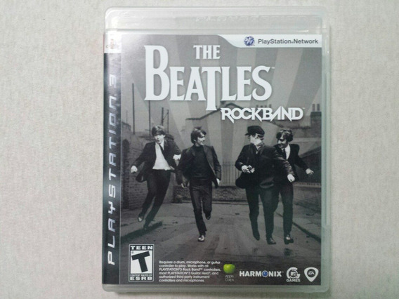 Rock Band The Beatles ( Jogo Original Ps3 Midia Fisica )