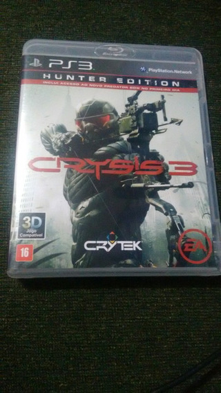 Crysis 3 Ps3 Usado Original Mídia Física Ps3