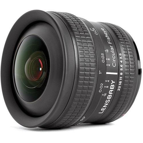 Lente Lensbaby 5.8mm F/3.5 Circular Fisheye P/ Canon Ef Maa