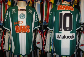 Coritiba - Camisa 2011 Reserva # 10