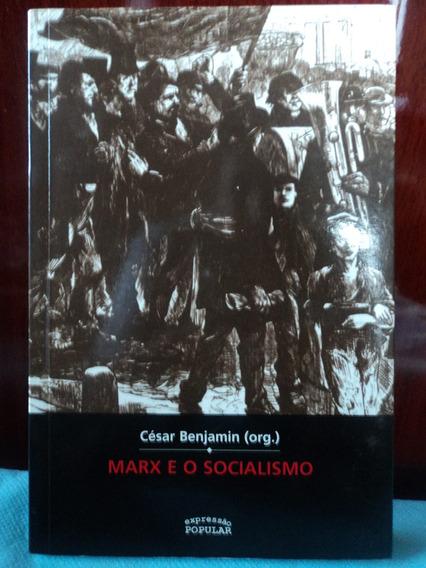Livro:marx E O Socialismo:césar Benjamin:perfeito Estado.