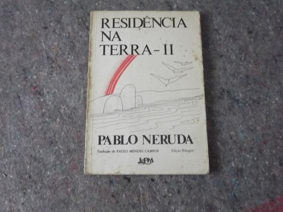 Livro - Residência Na Terra 2. - Pablo Neruda