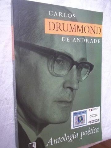 Livro - Carlos Drummond De Andrade - Literatura Nacional