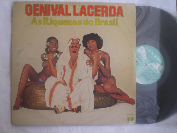 Lp - Genival Lacerda / As Riquezas Do Brasil / Copacabana /