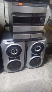Mini Componente Hi-fi Yamaha Gx-500,3cds,cassette,tuner,aux