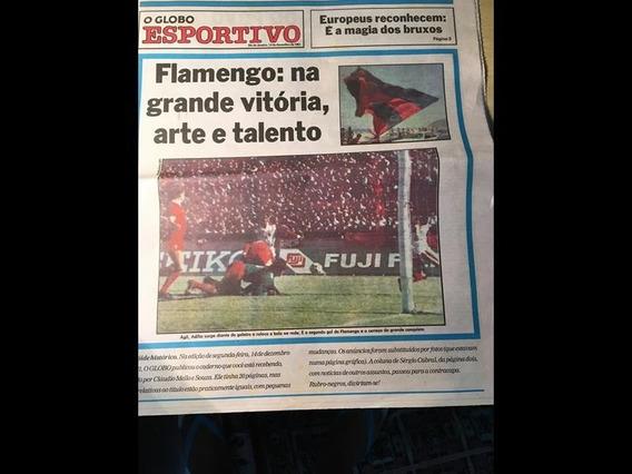 Flamengo Campeão Mundial - Edição Histórica Globo Esportivo