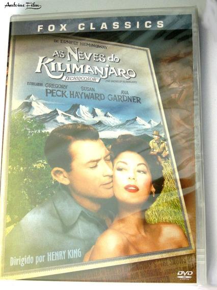 As Neves Do Kilimanjaro Dvd Novo Lacrado Gregory Peck Dublad