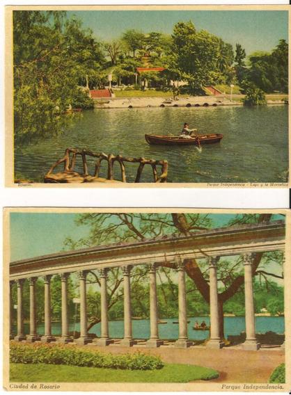 Postales Antiguas De Rosario Lote De 2 (sp)