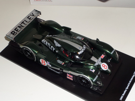 Miniatura Bentley Speed 8 12 Hs Sebring Tsm Escala 1/18