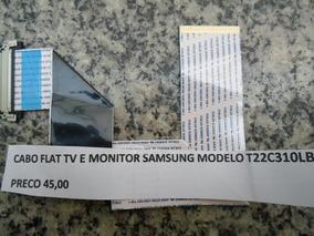 Cabo Flat Tv E Monitor Samsung Modelo T22c310lb