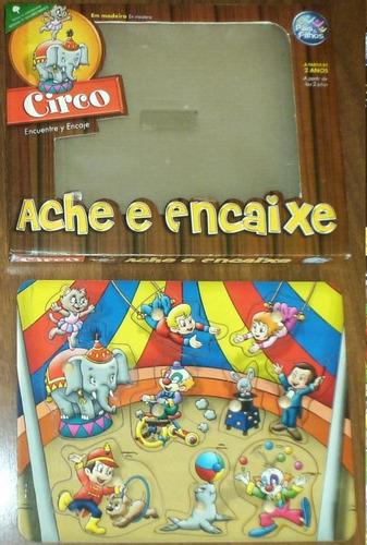 2 Jogos Ache E Encaixe Playground E Circo
