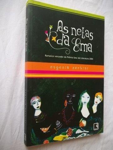 Livro - As Netas Da Ema - Literatura Nacional