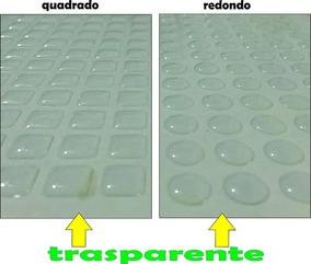 Protetor Adesivo Multiuso Silicone 200 Peças De Vidro Moveis