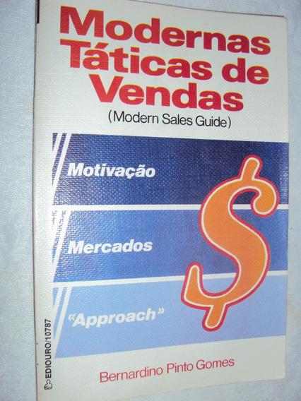 Modernas Táticas De Vendas (modern Sales Guide) (sebo Amigo)