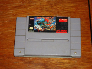 Super Nintendo Juego Ultraman Street Fighter Ii