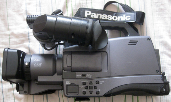Cámara Profesional Panasonic Ag-hmc70p Chip Sd Hc