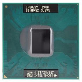 Processador Notebook Intel Core Duo T2400 1.83ghz 667mhz 2mb