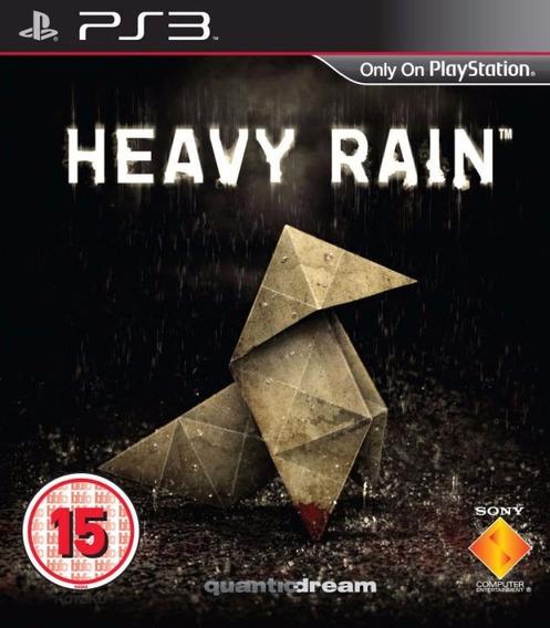 Jogo Mídia Física Heavy Rain Original Playstation 3