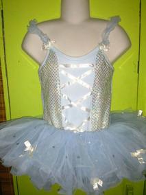 Vestido De Ballet, Con Tutu Corto.