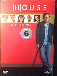 Dvd Dr. House Temporada 3 / House M. D. Season 3