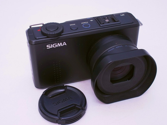 Camera Sigma Dp2 Merrill Foveon Sensor Lente 30mm
