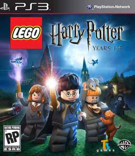 Lego Harry Potter 1-4 Years Anos Ps3 Original Lacrado