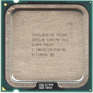Intel Core 2duo E4500