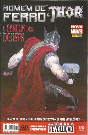 Homem De Ferro & Thor 6 - Panini 06 - Bonellihq Cx73 G19