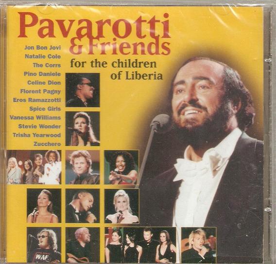 Cd Pavarotti & Friends - For The Children Of Liberia -novo**