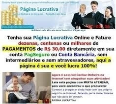 Pagina Lucrativa Envio Na Hora Dinheiro Online Renda Extra