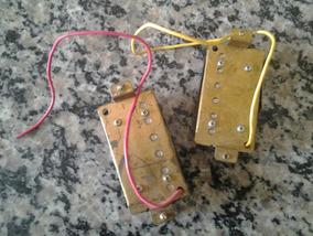 2 Captadores Guitarra - Ponte E Braço
