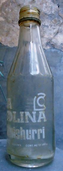 Antigua Botella De Chimichurri La Colina De Vidrio 385 Cc