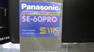 Video Cassette Tdk Profesional Se-60 Pro-svhs-japan-dyess